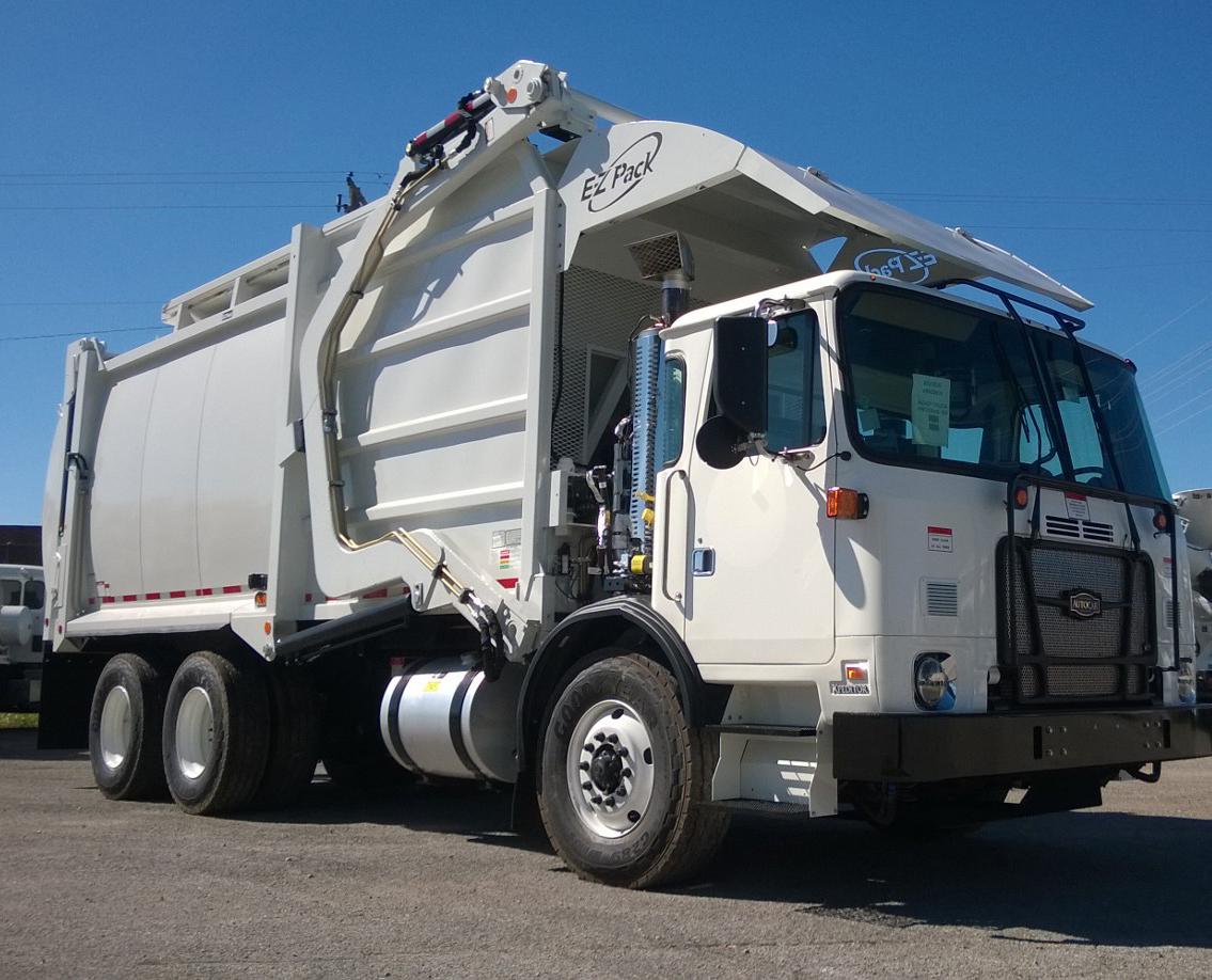 6b2da8ce66 2018 Autocar ACX64 Front Load CFEL Garbage Truck w  EZ Pack Body